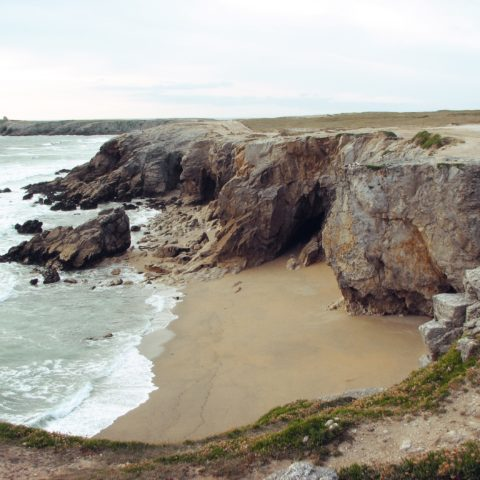Wild coast Saint Pierre Quiberon
